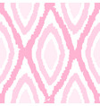 pink monochrome rhombus seamless pattern vector image vector image