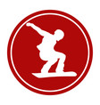 sports sign icon vector image