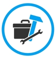 Toolbox Rounded Icon vector image vector image