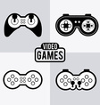 Video games design vector image