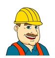 Builder man or engineer vector image