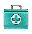 first aid kit icon image vector image