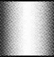 abstract dotted halftone texture vector image vector image