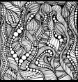 coloring page decorative pattern fantasy vector image vector image