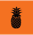 icon of pineapple vector image vector image
