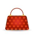Red Handbag vector image
