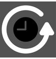 Restore Clock Icon vector image vector image