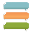 Set Speech Bubble Frames vector image vector image