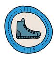 shoe design vector image vector image
