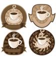 tea or coffee vector image vector image