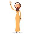 beautiful muslim woman in a hijab