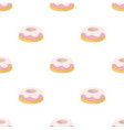 cake icon in cartoon style isolated on white vector image vector image