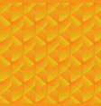 geometric pattern with orange rectangles vector image vector image