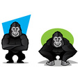 Gorilla Character Set vector image vector image