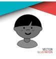 happy kids design vector image vector image