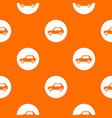 only motor vehicles allowed road sign pattern vector image