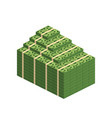 various money bills dollar cash paper bank notes vector image vector image