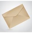 envelope of brown paper vector image