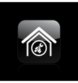 adjust home icon vector image