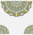 circular decorative ornament arabic pattern vector image vector image