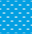 hops pattern seamless blue vector image