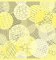 layered dots different opacity yellow lime white vector image vector image