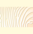 white paper strips - abstract texture on beige vector image