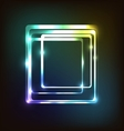 Abstract colorful with rounded rectangle vector image