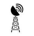 antenna icon image vector image