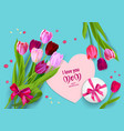 blue holiday mothers day vector image vector image