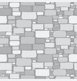 cartoon gray stone wall background vector image vector image