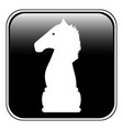 chess elephant icon vector image vector image
