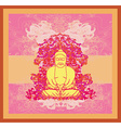 Chinese Traditional Artistic Buddhism Pattern vector image vector image