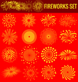 Fireworks for Chinese New Year vector image