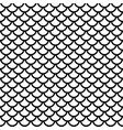 fish scale grid seamless pattern vector image vector image