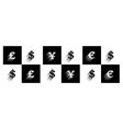 forex signs 2 vector image