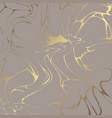 golden marble elegant decorative background vector image vector image
