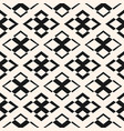 ornament seamless pattern geometric texture vector image vector image