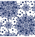 seamless pattern with circle ornament made from vector image