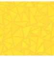 Sharp shapes yellow triangles vector image