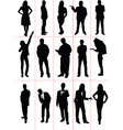 Silhouettes people vector | Price: 1 Credit (USD $1)
