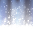 Sparkling Frosty Background vector image vector image