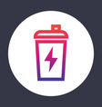 sport shaker icon linear vector image