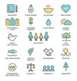 sustainable development goals and sustainable vector image vector image