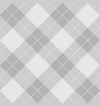 tile grey plaid pattern for seamless decoration vector image vector image