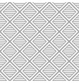 white background with geometric shapes seamless vector image vector image