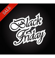 Black friday document template vector image vector image
