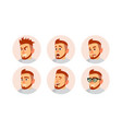 character business people avatar man face