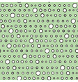 Cute circle seamless pattern with hand drawn dots vector image vector image