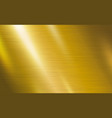 gold metal texture background vector image vector image